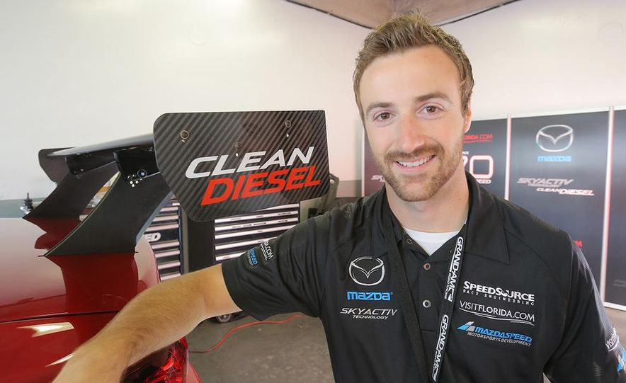 Behind the Scenes with the Diesel-Powered Mazda 6 Grand-Am Racer - Slide 16