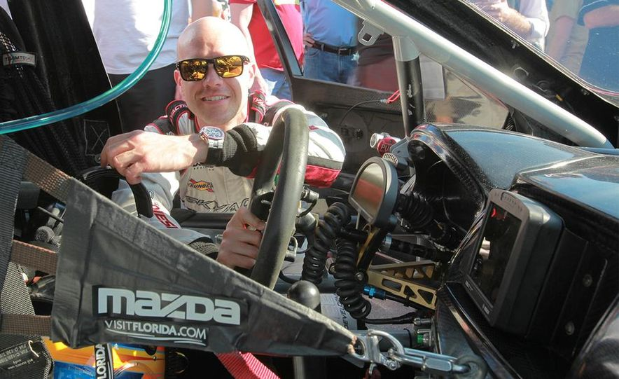Behind the Scenes with the Diesel-Powered Mazda 6 Grand-Am Racer - Slide 18