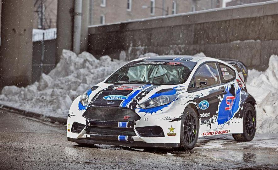 Ford Fiesta ST GRC racer - Slide 9