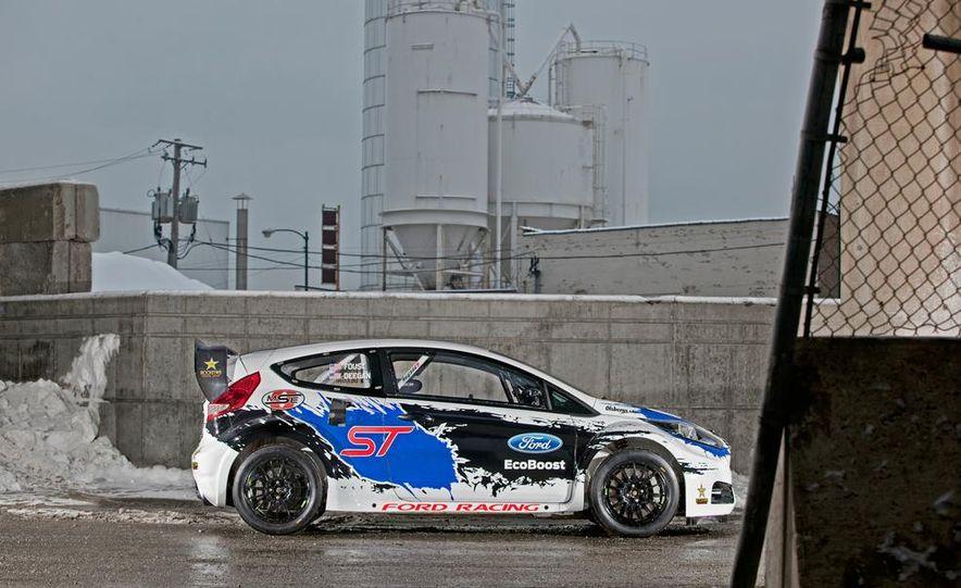 Ford Fiesta ST GRC racer - Slide 11