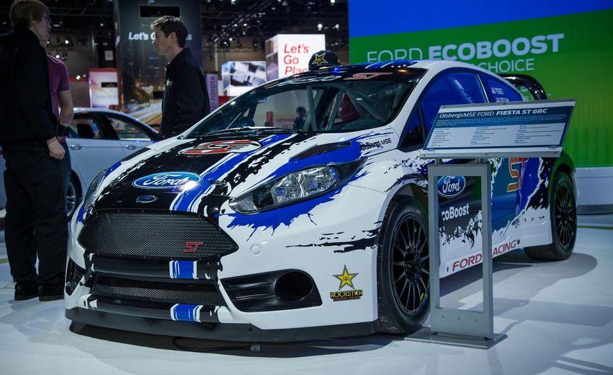 Ford Fiesta ST GRC racer - Slide 1