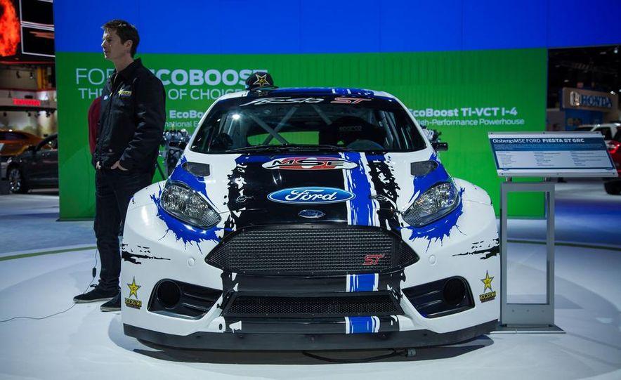Ford Fiesta ST GRC racer - Slide 2