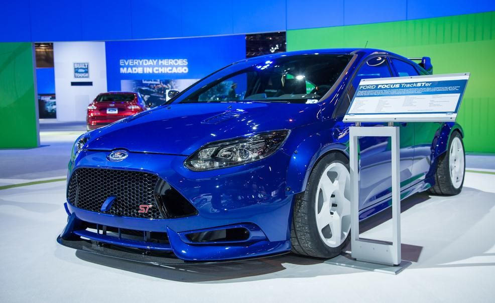 They Call It TrackSTer Ken Blockinspired 350hp Ford Focus ST