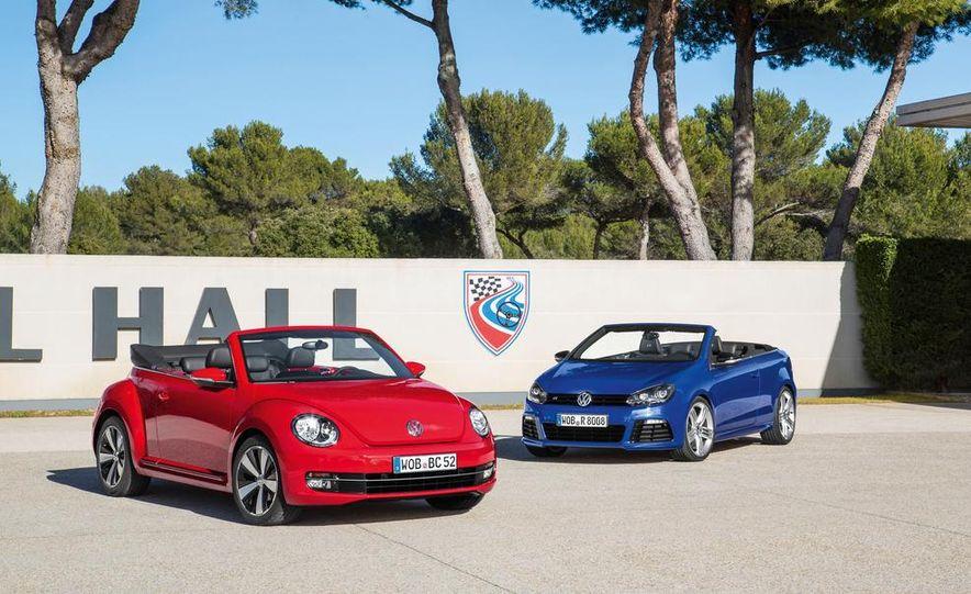 2013 Volkswagen Beetle Cabriolet and Golf R Cabriolet - Slide 1