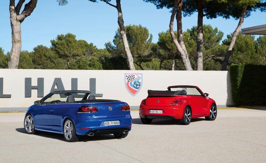 2013 Volkswagen Beetle Cabriolet and Golf R Cabriolet - Slide 2