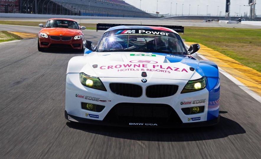 BMW Z4 GTE race car and 2014 BMW Z4's - Slide 3