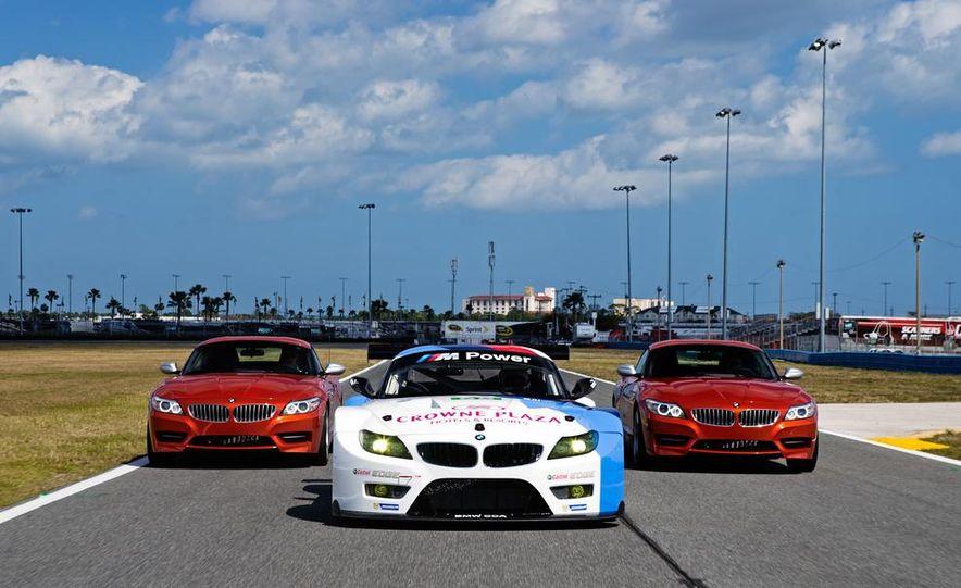 BMW Z4 GTE race car and 2014 BMW Z4's - Slide 1