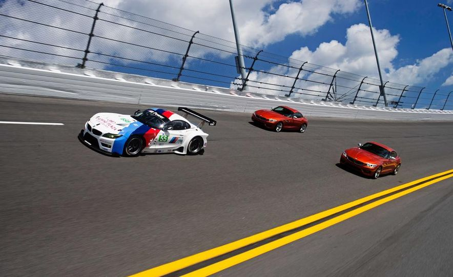 BMW Z4 GTE race car and 2014 BMW Z4's - Slide 2