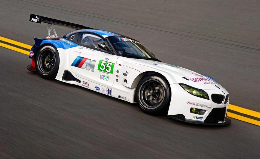 BMW Z4 GTE race car and 2014 BMW Z4's - Slide 4