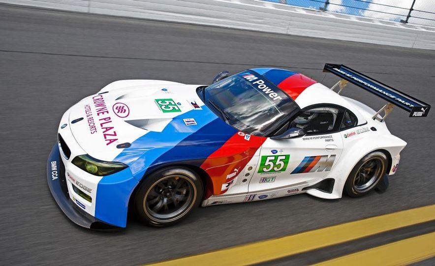 BMW Z4 GTE race car and 2014 BMW Z4's - Slide 5