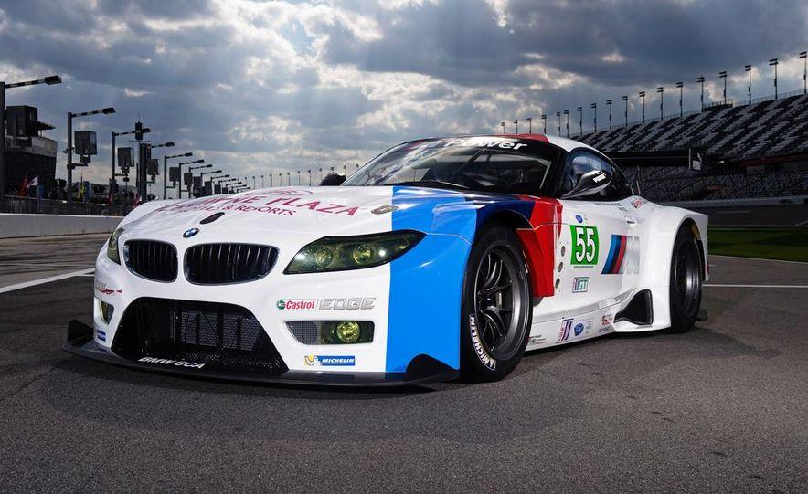 BMW Z4 GTE race car and 2014 BMW Z4's - Slide 6