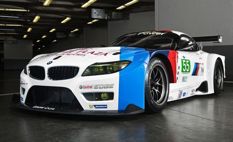 BMW Z4 GTE race car and 2014 BMW Z4's - Slide 7