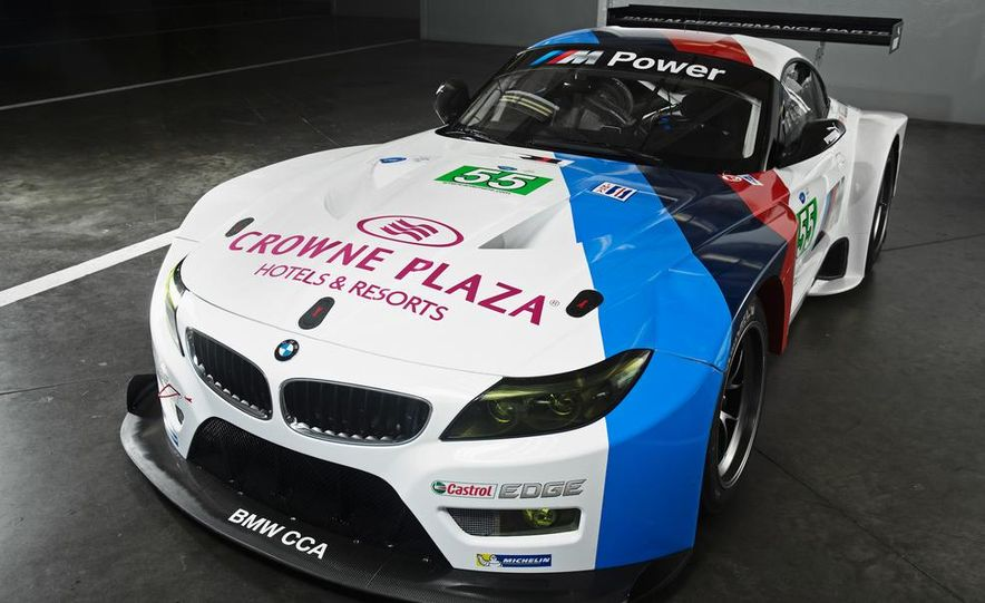BMW Z4 GTE race car and 2014 BMW Z4's - Slide 8