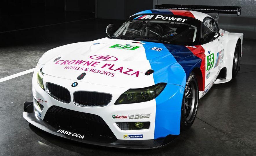 BMW Z4 GTE race car and 2014 BMW Z4's - Slide 9