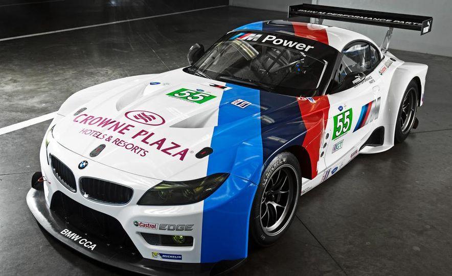 BMW Z4 GTE race car and 2014 BMW Z4's - Slide 10