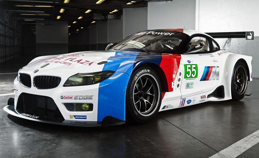 BMW Z4 GTE race car and 2014 BMW Z4's - Slide 11