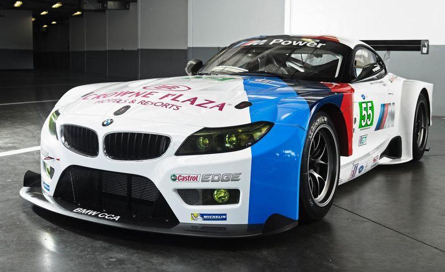 BMW Z4 GTE race car and 2014 BMW Z4's - Slide 12