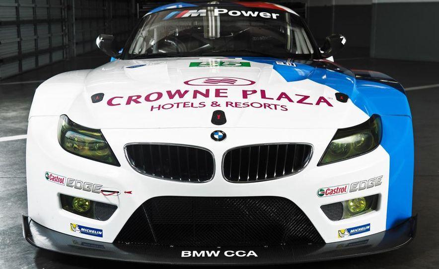 BMW Z4 GTE race car and 2014 BMW Z4's - Slide 14