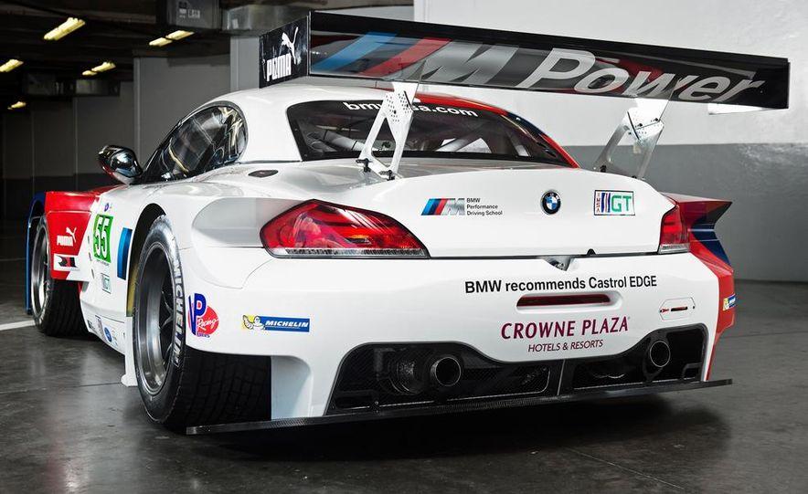 BMW Z4 GTE race car and 2014 BMW Z4's - Slide 15