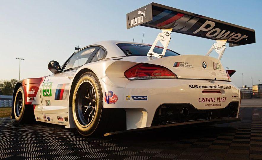 BMW Z4 GTE race car and 2014 BMW Z4's - Slide 16
