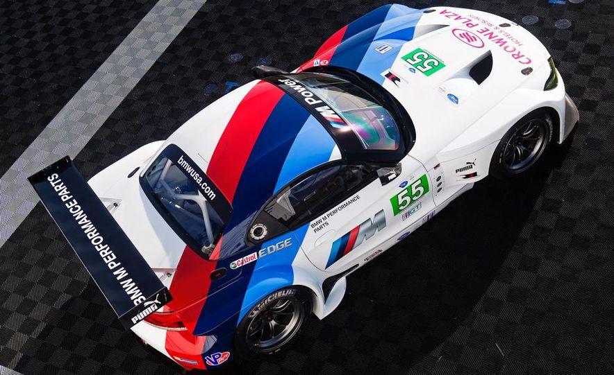 BMW Z4 GTE race car and 2014 BMW Z4's - Slide 18