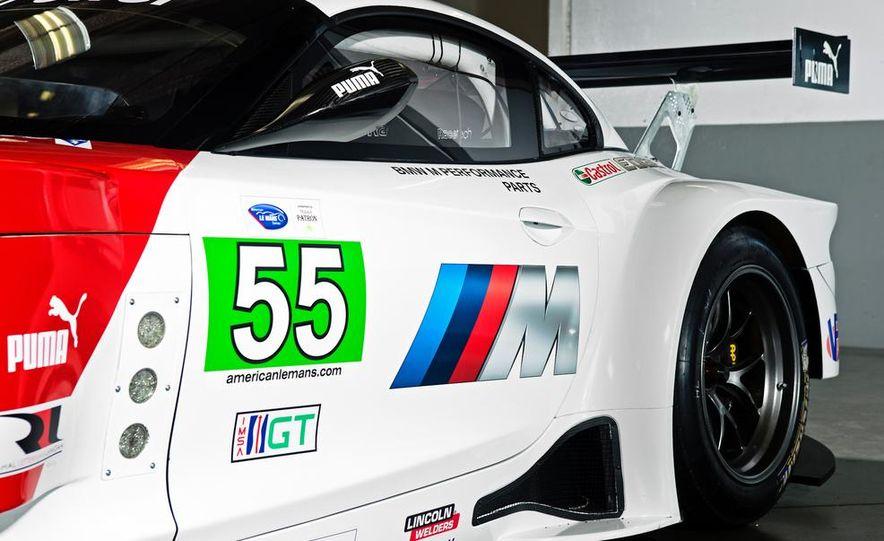 BMW Z4 GTE race car and 2014 BMW Z4's - Slide 19