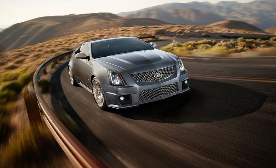 2013 Cadillac CTS-V Coupe Silver Frost Edition - Slide 1