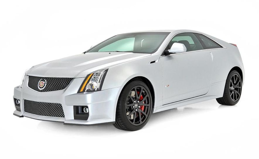2013 Cadillac CTS-V Coupe Silver Frost Edition - Slide 2