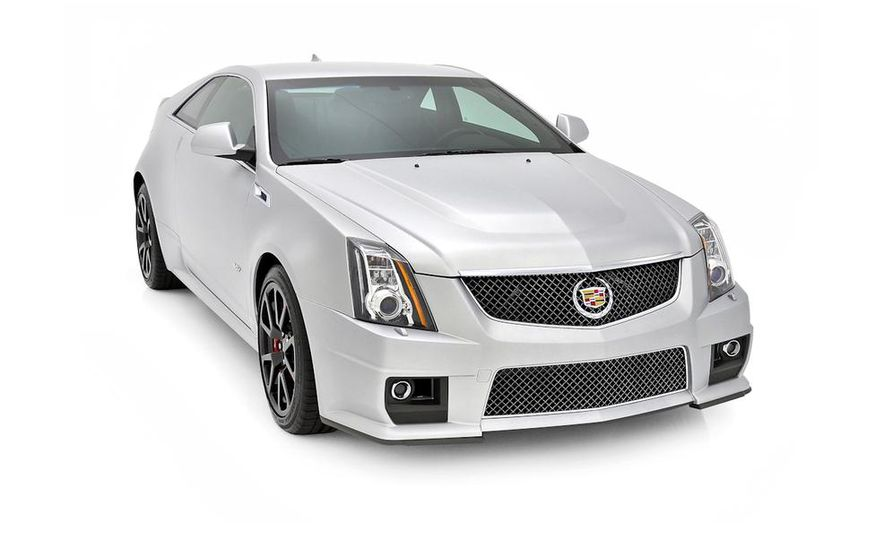 2013 Cadillac CTS-V Coupe Silver Frost Edition - Slide 3