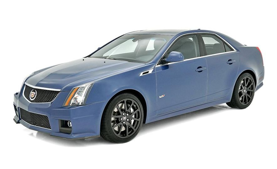 2013 Cadillac CTS-V Coupe Silver Frost Edition - Slide 5