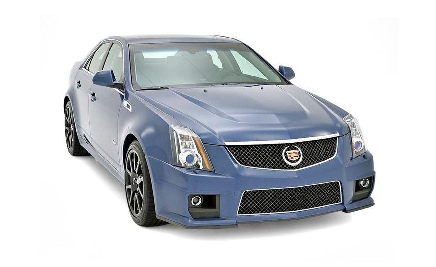 2013 Cadillac CTS-V Coupe Silver Frost Edition - Slide 6
