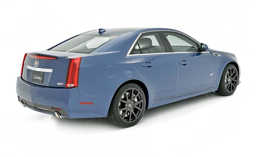 2013 Cadillac CTS-V Coupe Silver Frost Edition - Slide 7