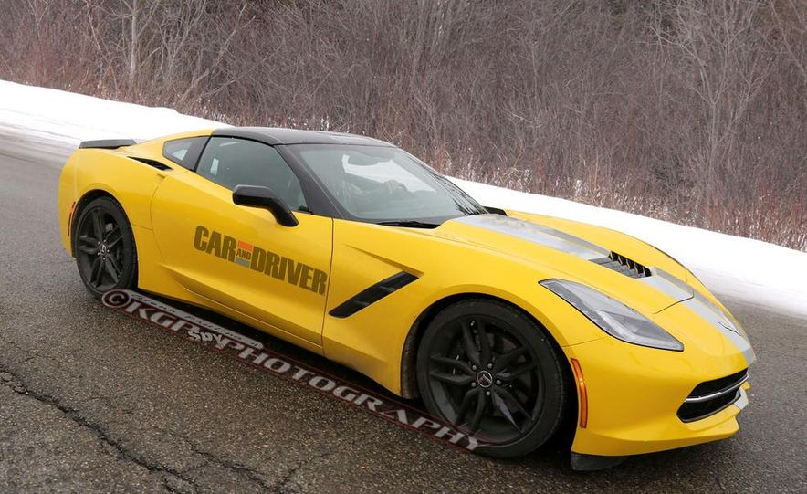 2014 Chevrolet Corvette C7 (spy photo) - Slide 1