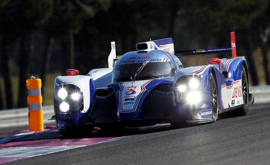Toyota Racing TS030 hybrid race car - Slide 1