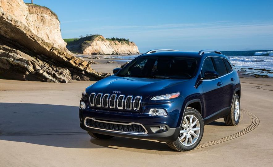 2014 Jeep Cherokee Limited - Slide 1