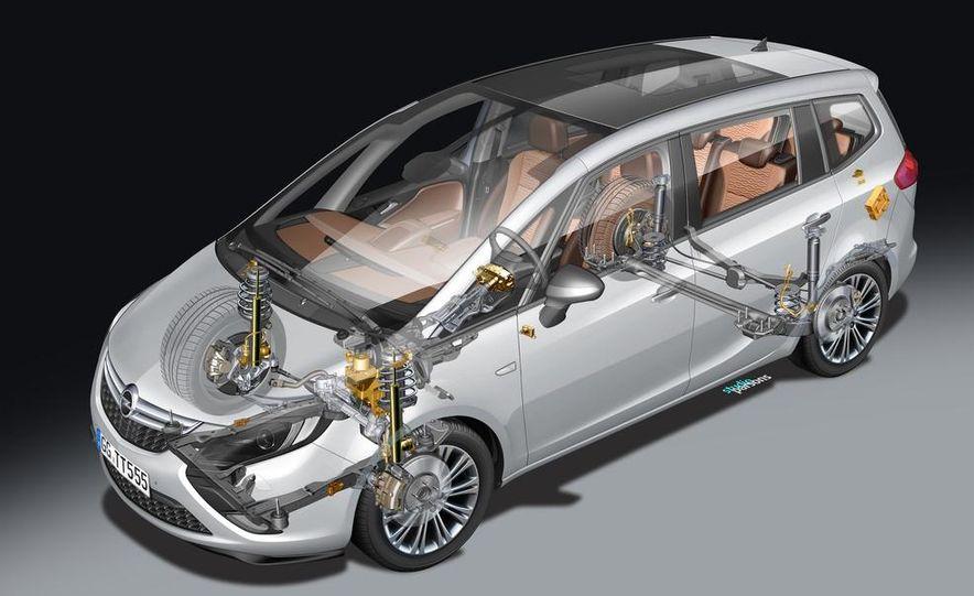 2013 Opel Zafira Tourer BiTurbo - Slide 38