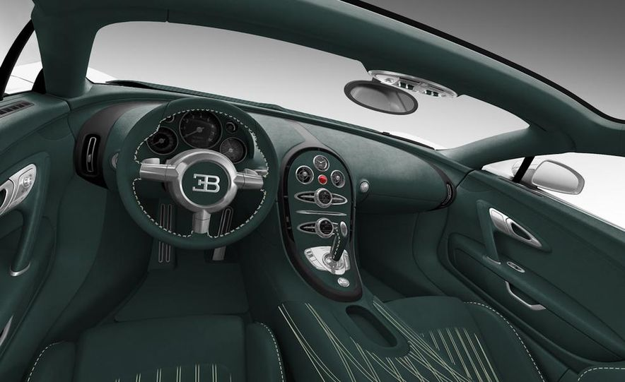 Bugatti Veyron Grand Sport Green Carbon - Slide 31