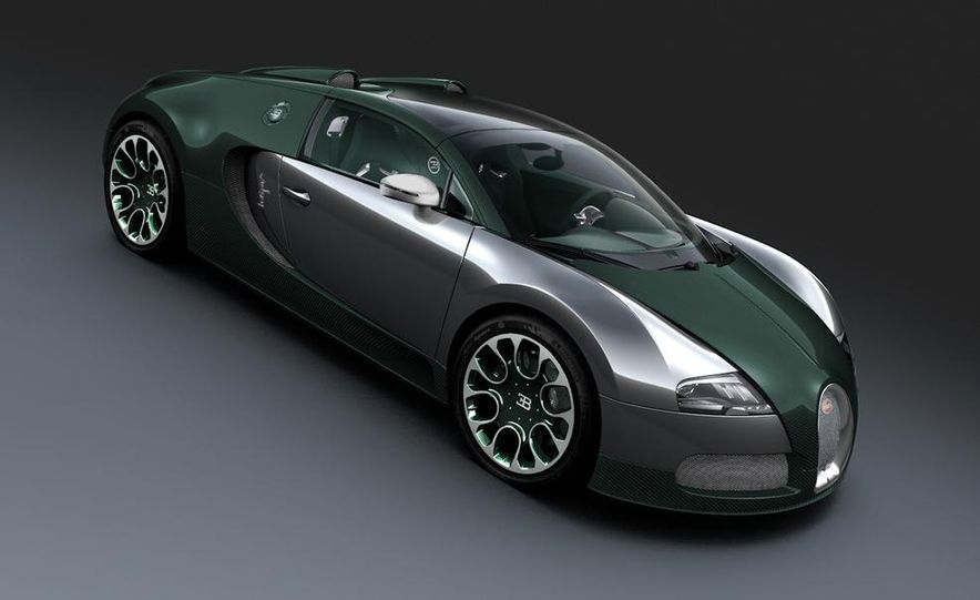 Bugatti Veyron Grand Sport Green Carbon - Slide 30