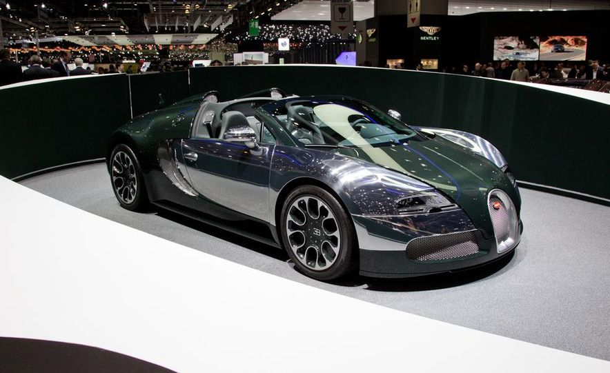 Bugatti Veyron Grand Sport Green Carbon - Slide 1