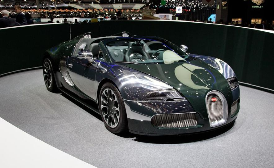 Bugatti Veyron Grand Sport Green Carbon - Slide 2