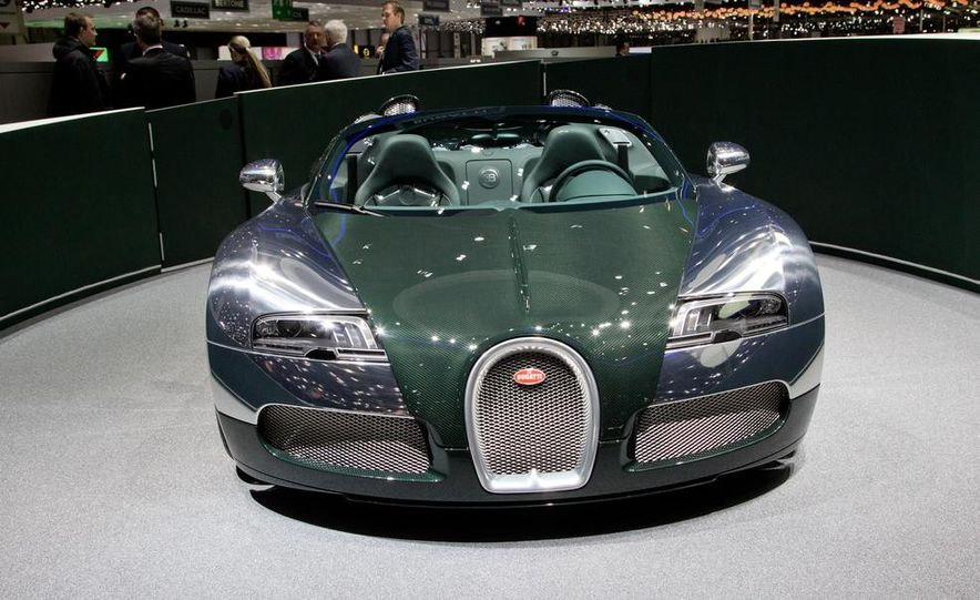 Bugatti Veyron Grand Sport Green Carbon - Slide 7