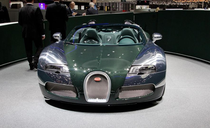 Bugatti Veyron Grand Sport Green Carbon - Slide 8