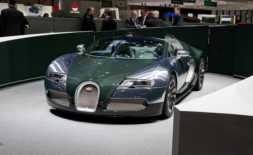 Bugatti Veyron Grand Sport Green Carbon - Slide 9