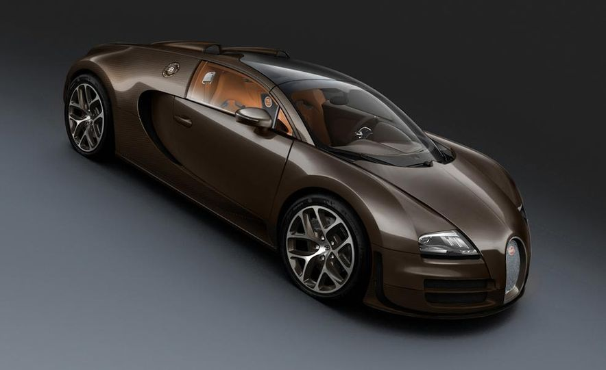 Bugatti Veyron Grand Sport Green Carbon - Slide 34