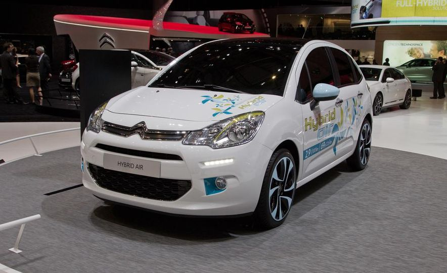Citroën Hybrid Air C3 prototype - Slide 2