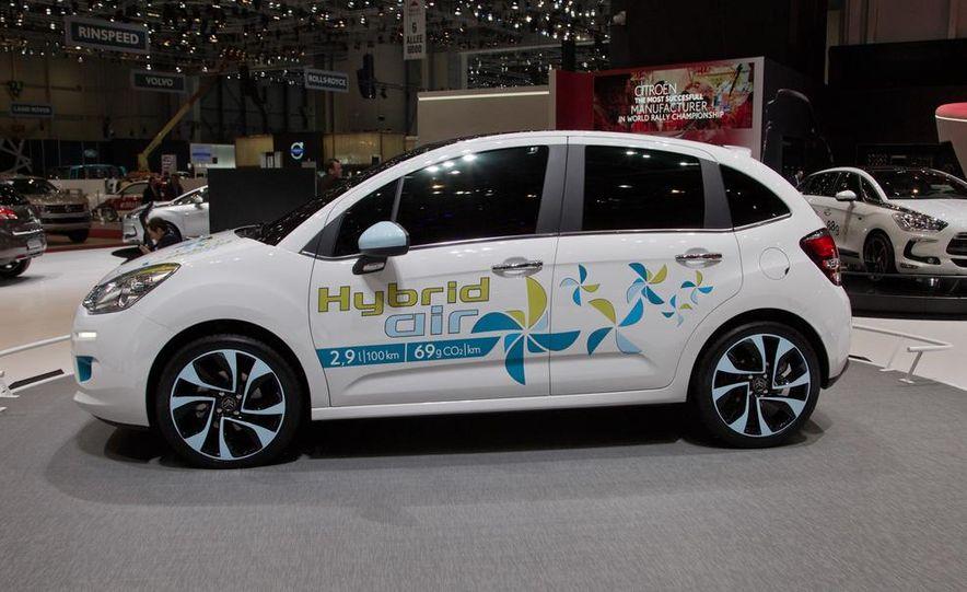 Citroën Hybrid Air C3 prototype - Slide 4
