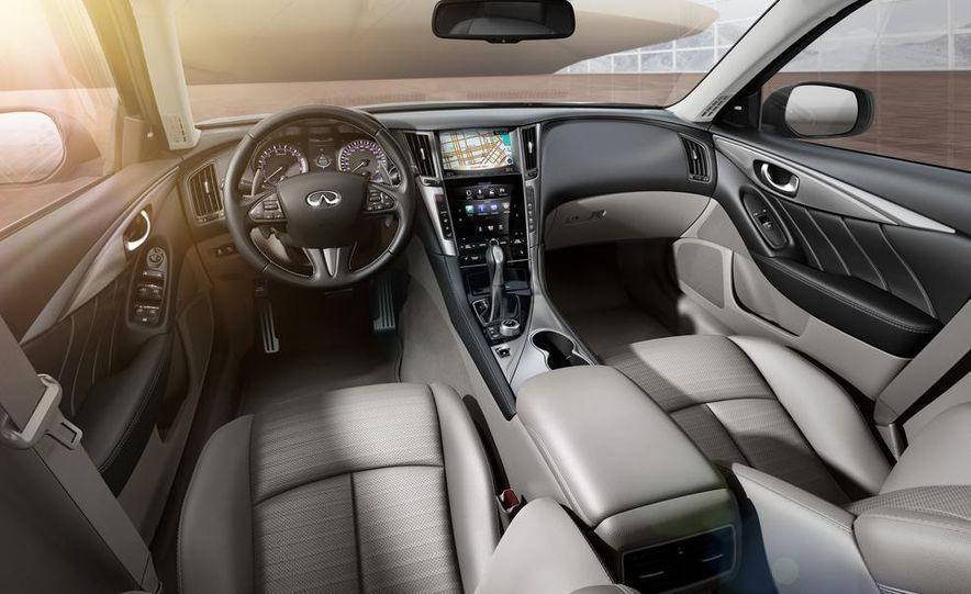 2014 Infiniti Q50 diesel sedan - Slide 10