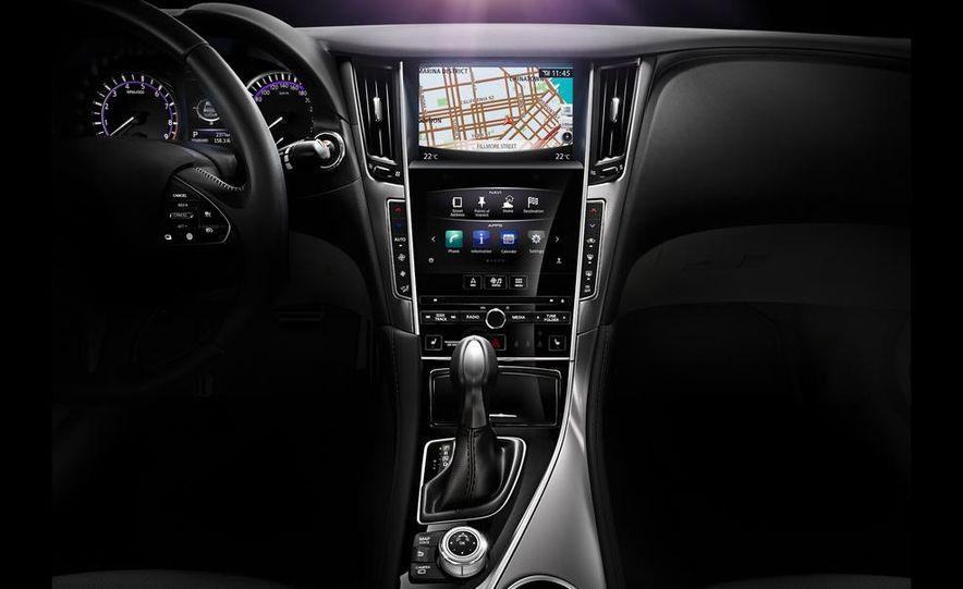 2014 Infiniti Q50 diesel sedan - Slide 11