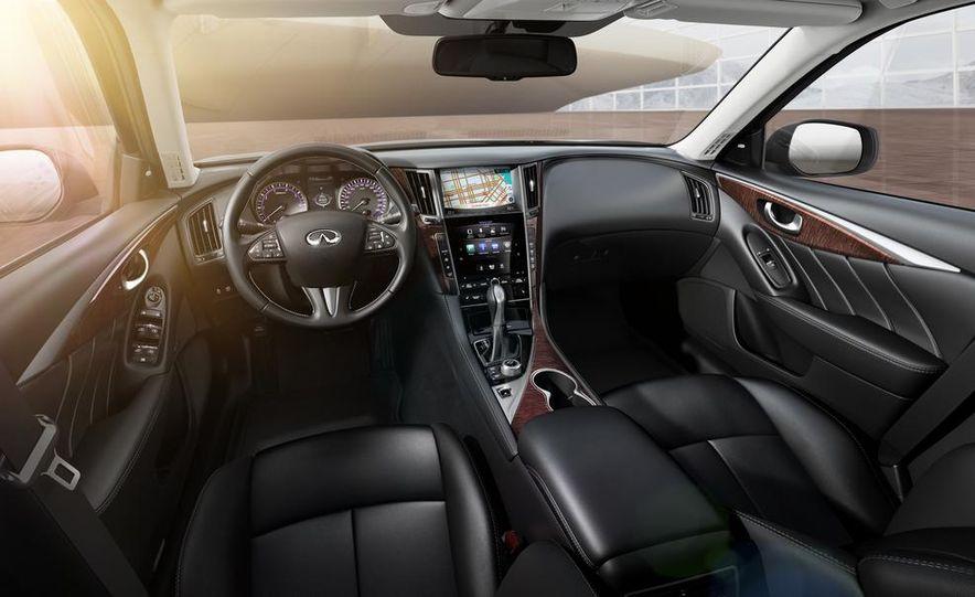 2014 Infiniti Q50 diesel sedan - Slide 12
