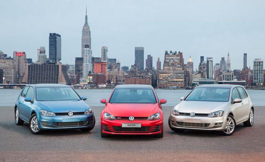 2015 Volkswagen Golf TSI, GTI, and TDI - Slide 1